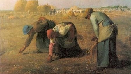 Oil on Canvas, Women Working in the Field, Jean François, Gleaners, 1837