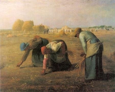 Jean François, the Gleaners, 1857, Public Domain